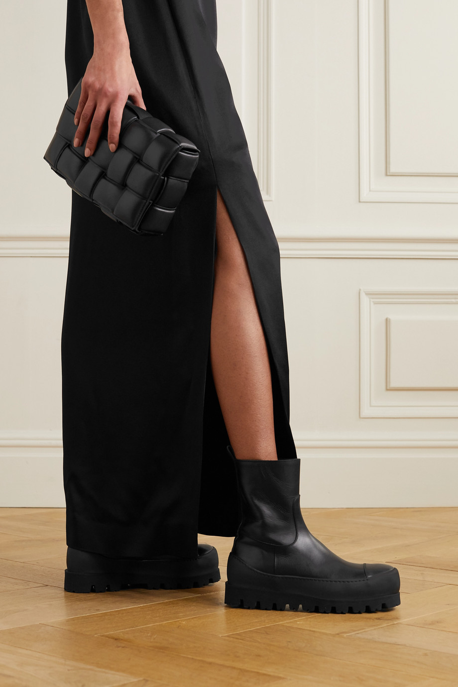 Ann Demeulemeester Leather ankle boots