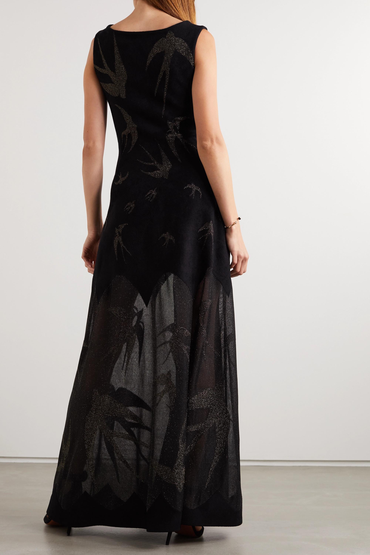 Alaïa Velvet and Lurex gown