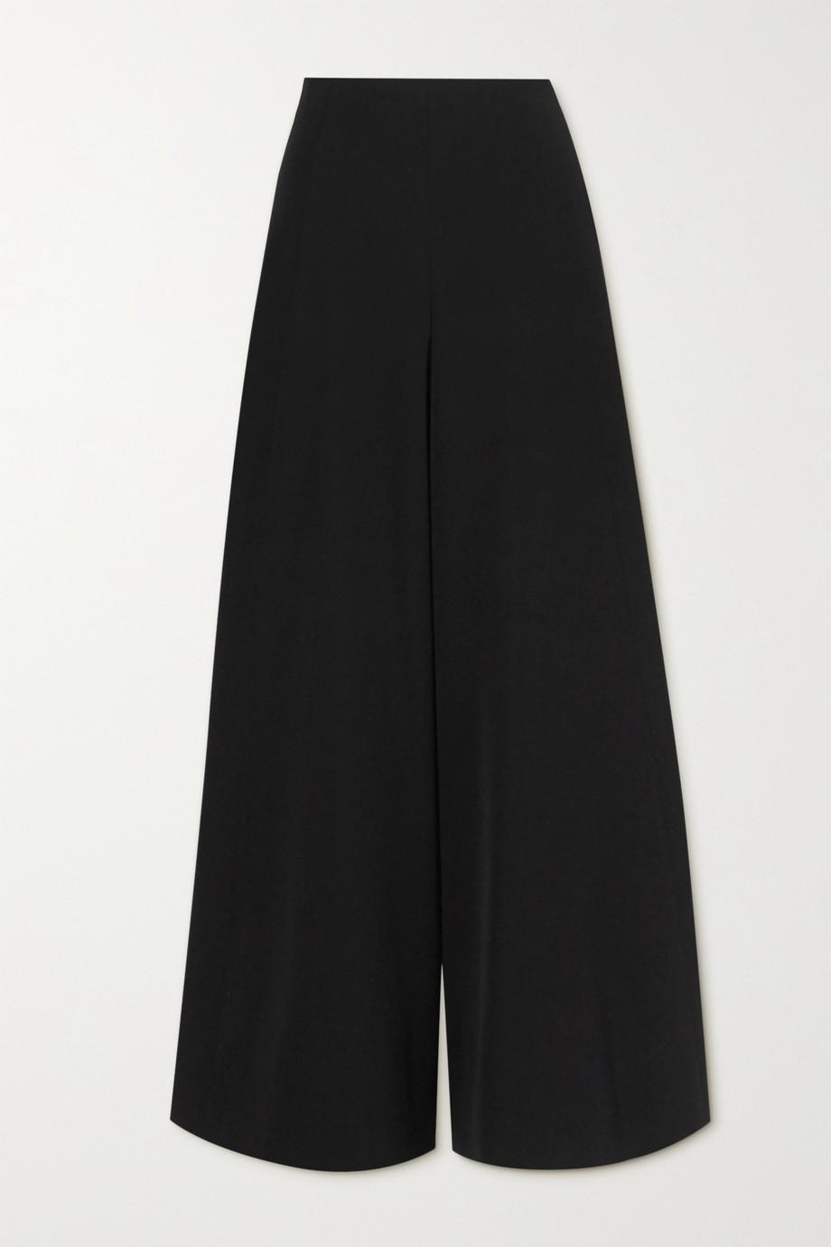 Alaïa Wool-twill wide-leg pants