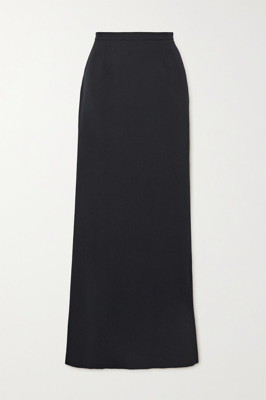 Alaïa Wool-crepe midi skirt