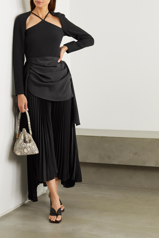 REJINA PYO Eliza wool-blend twill top