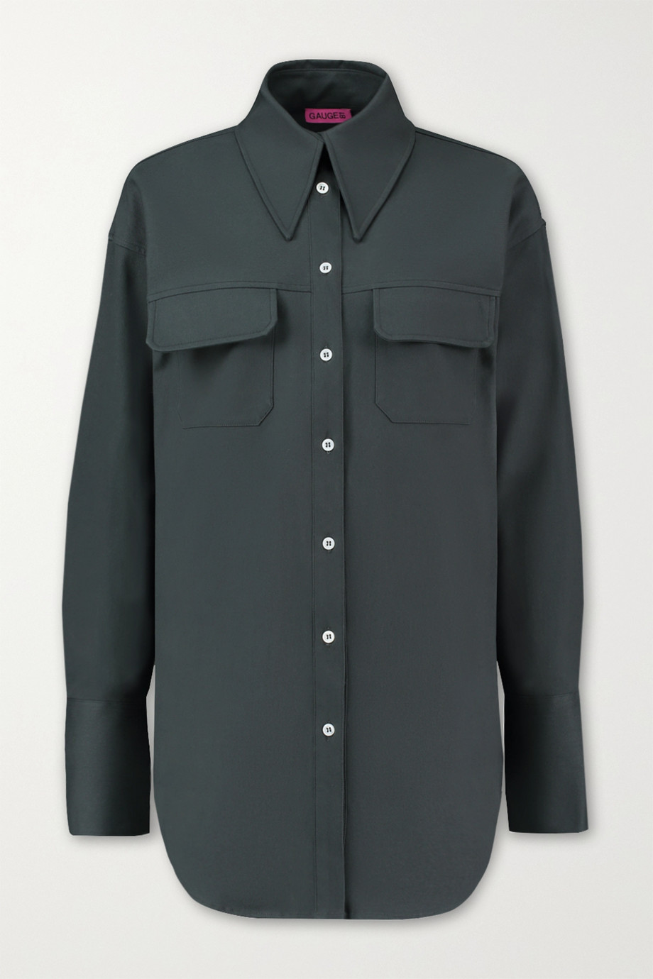 GAUGE81 Ulundi oversized cotton-poplin shirt