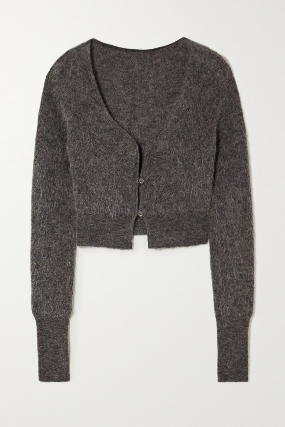 Jacquemus Alzou cropped mohair-blend cardigan