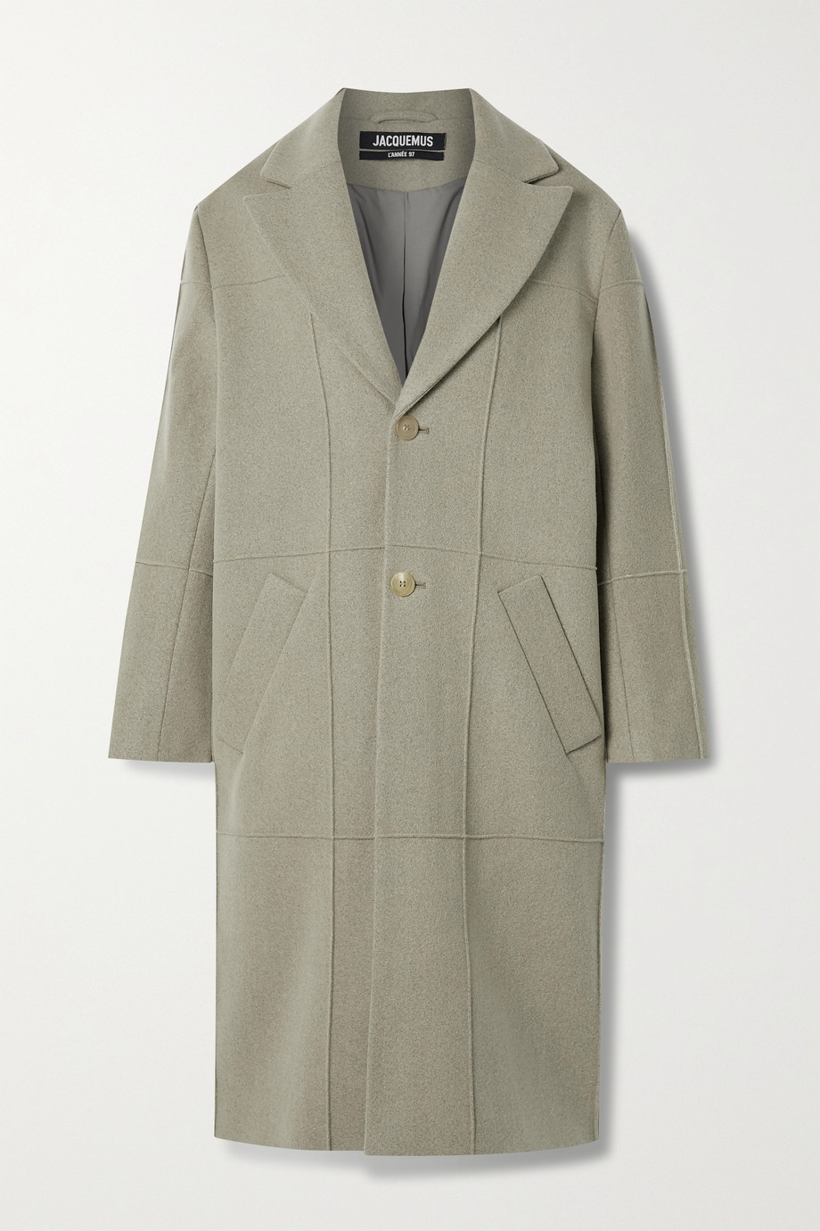 Jacquemus Carro wool-blend felt coat
