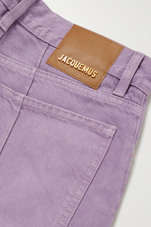 Jacquemus Organic high-rise straight-leg jeans