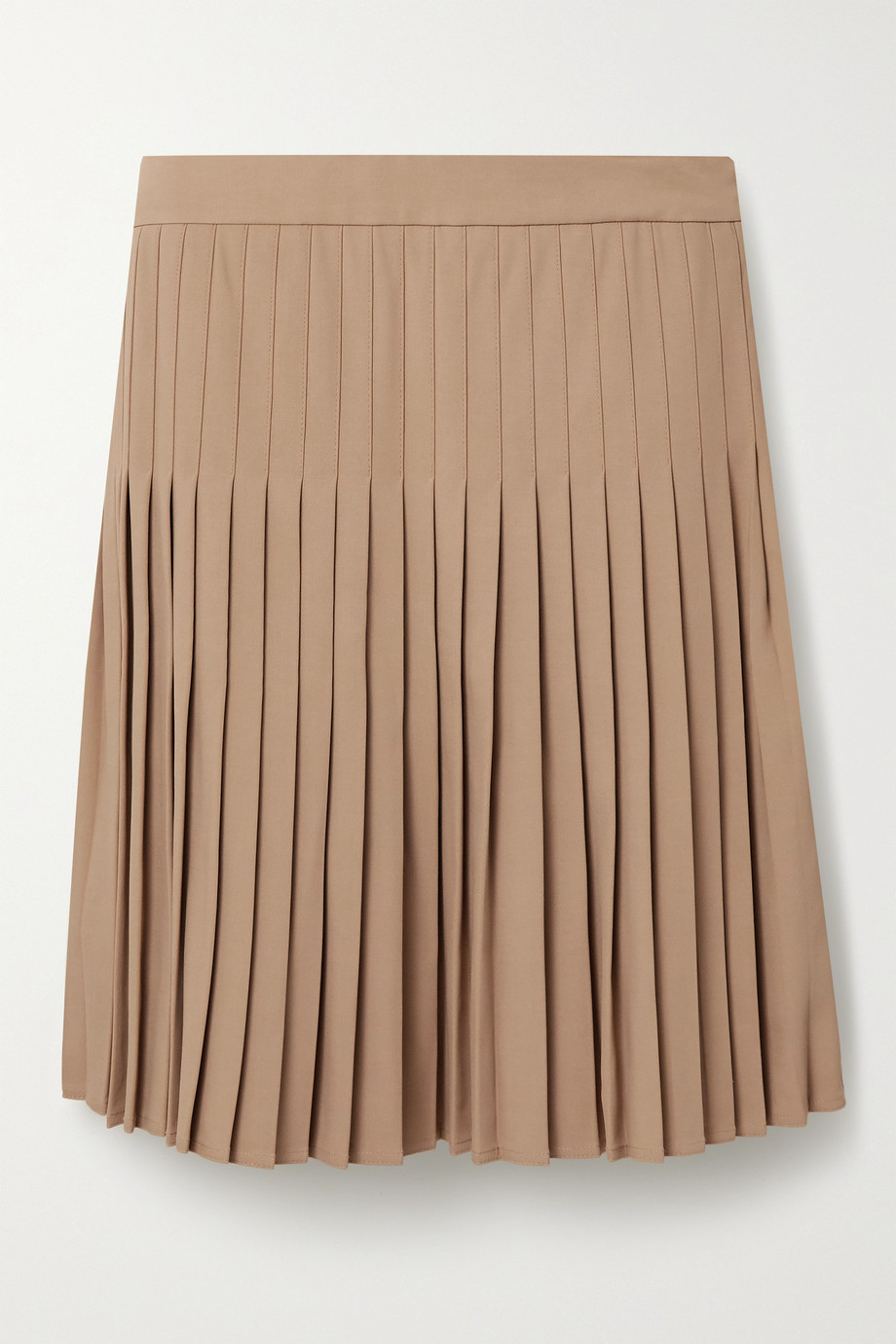 Peter Do Pleated crepe mini skirt