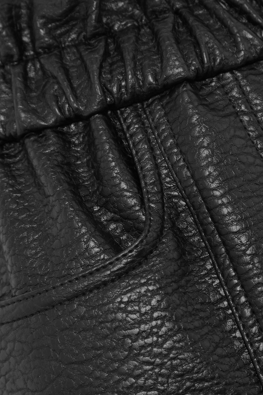 Philosophy di Lorenzo Serafini Pantalon fuselé en cuir synthétique texturé