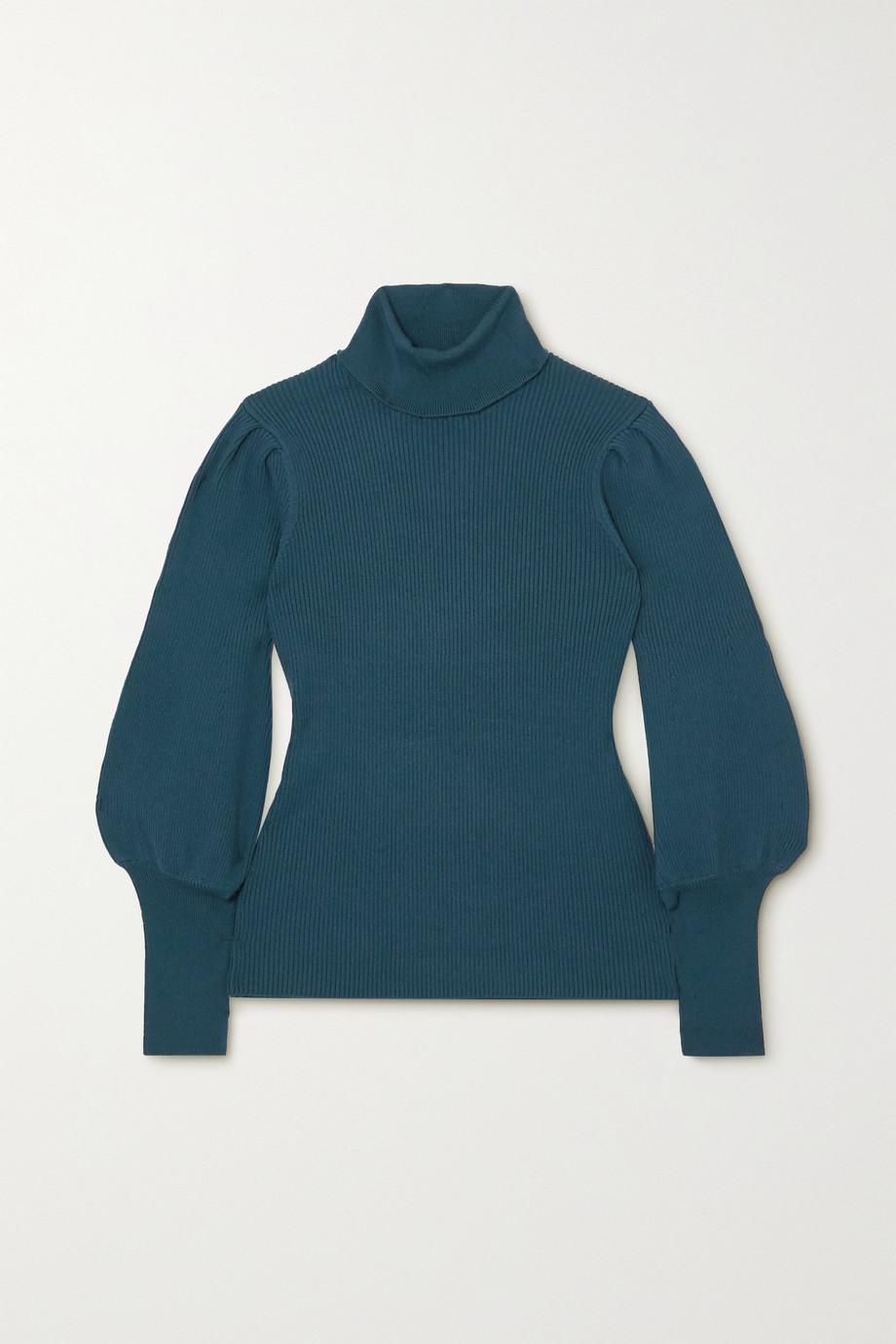 Cefinn Eva ribbed wool-blend turtleneck sweater