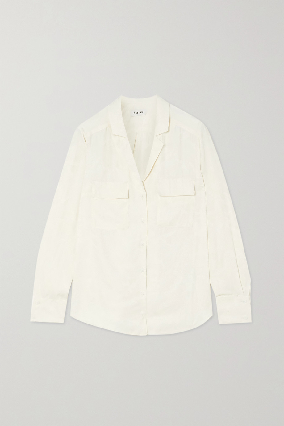 Cefinn Spencer jacquard shirt