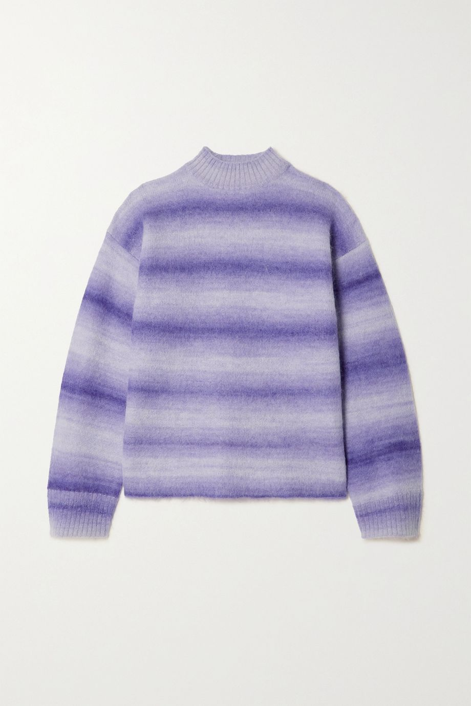 Acne Studios Ombré striped knitted sweater