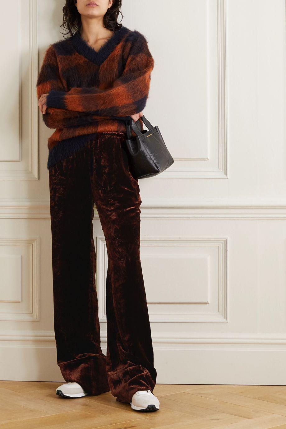 Acne Studios Velvet wide-leg pants