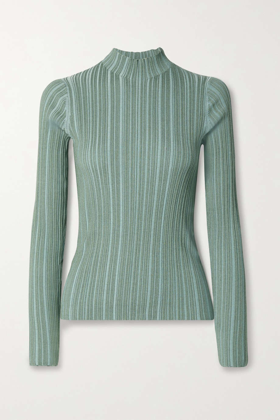 Acne Studios Ribbed cotton-blend turtleneck sweater
