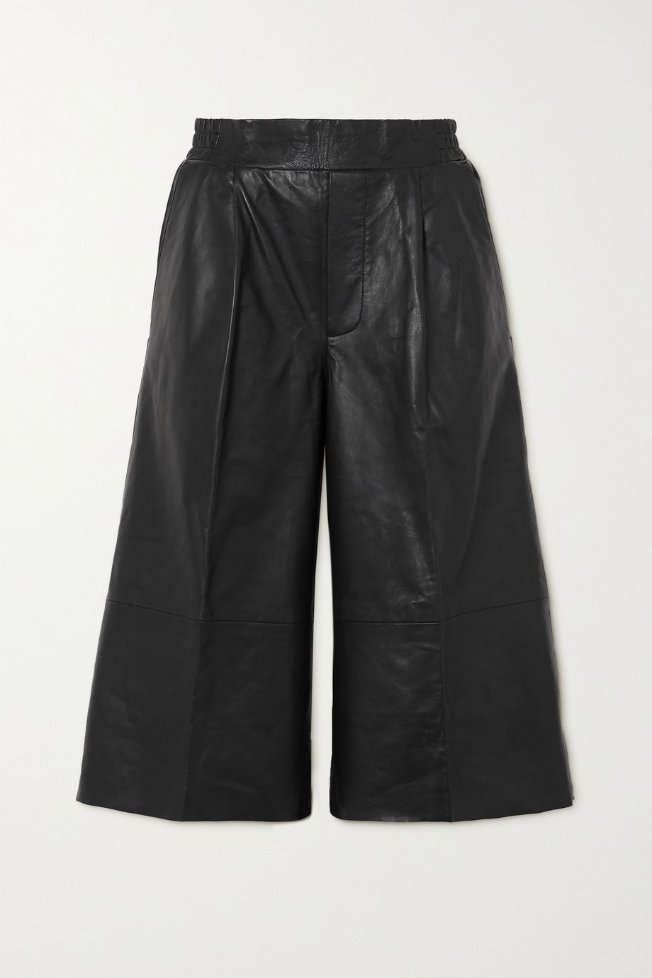 REMAIN Birger Christensen Leather shorts