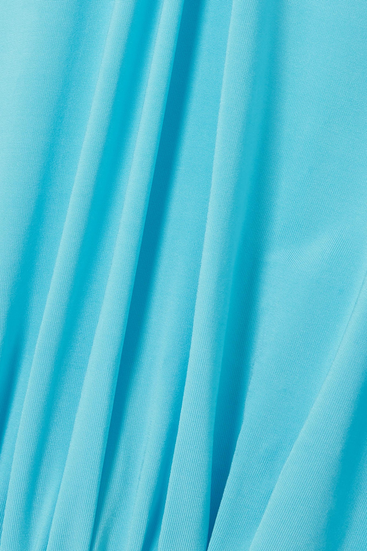 Azure Laura Open-back Jersey Midi Dress | Rotate Birger Christensen