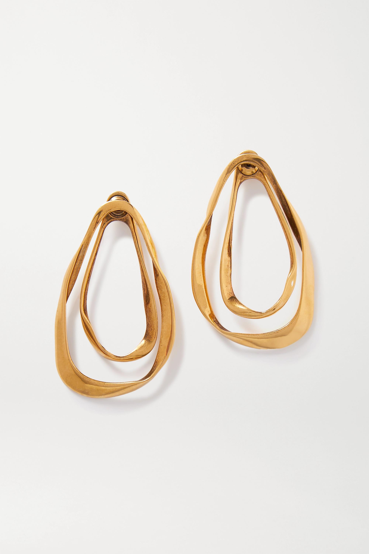 Alexander McQueen 金色耳环