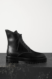 Alaïa Studded leather ankle boots