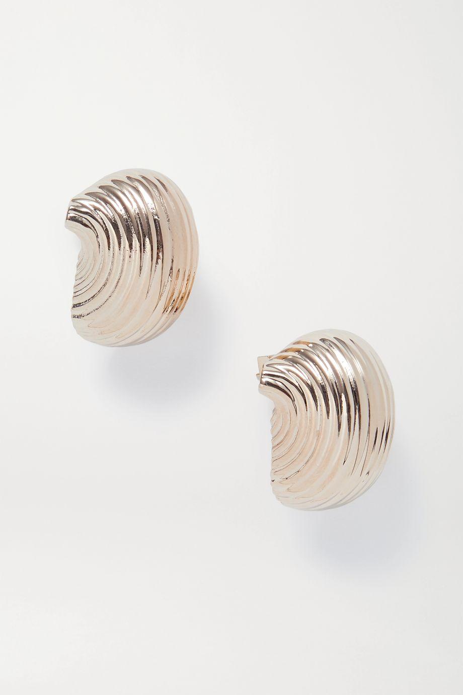 Jacquemus Les Pates gold-tone earrings