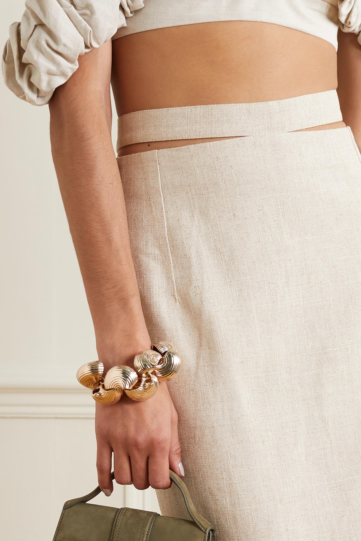 Jacquemus Le Pates gold-tone bracelet