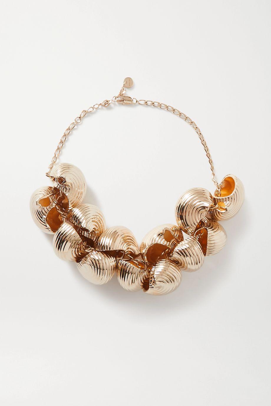 Jacquemus Le Pates gold-tone necklace