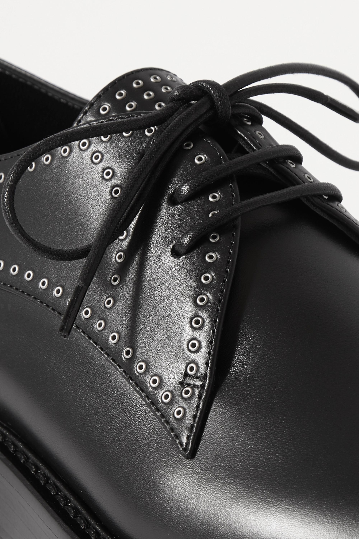 Alaïa Studded leather brogues