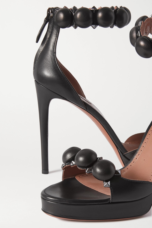 Alaïa Bombe 115 studded leather sandals
