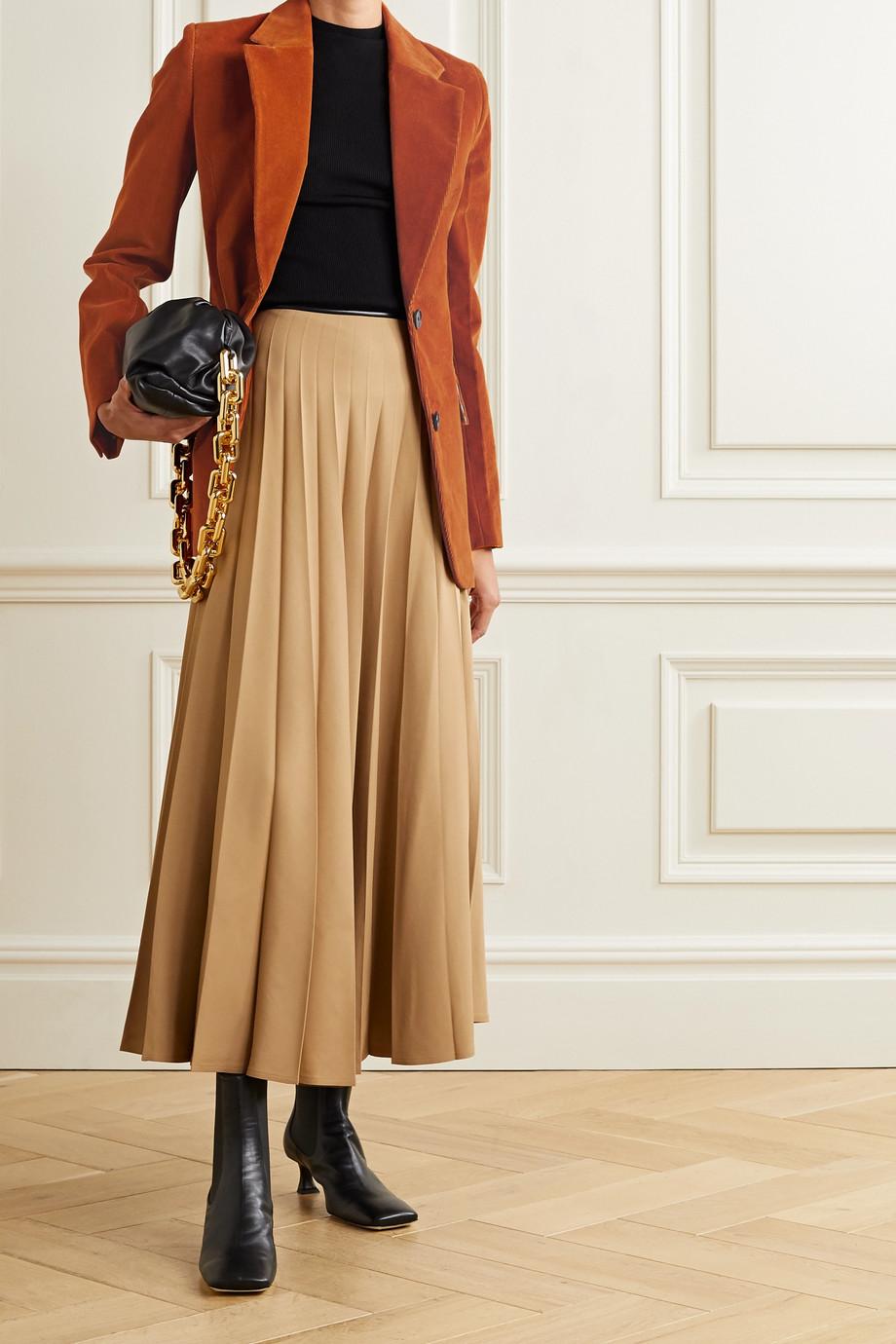 Victoria Beckham Cotton-corduroy blazer