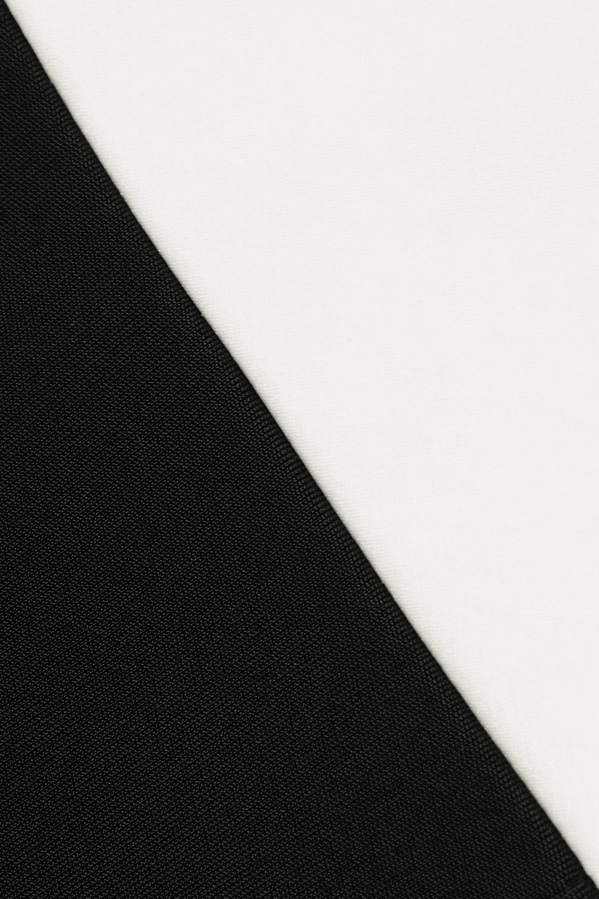 Galvan Robe du soir en crêpe bicolore