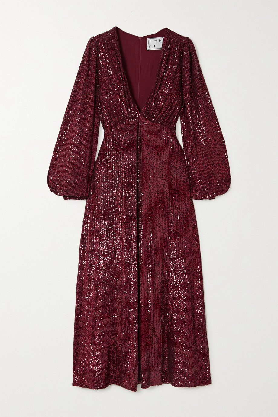 In The Mood For Love Irina sequined tulle midi dress