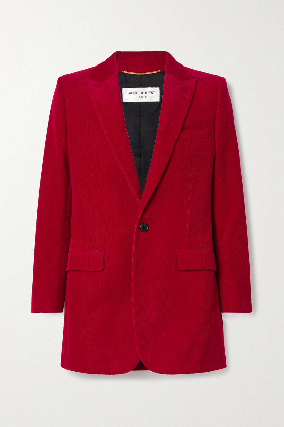 SAINT LAURENT Cotton-corduroy blazer