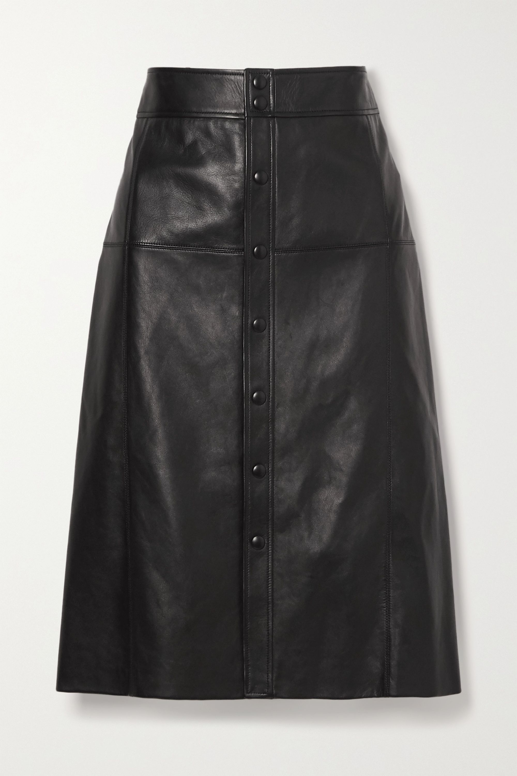 SAINT LAURENT Leather skirt