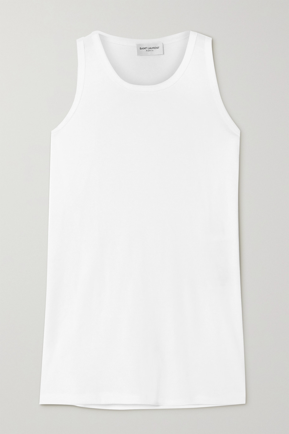 SAINT LAURENT Cotton-jersey tank
