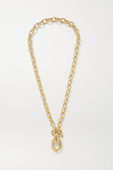 Paco Rabanne - Xl Link Gold-tone Necklace