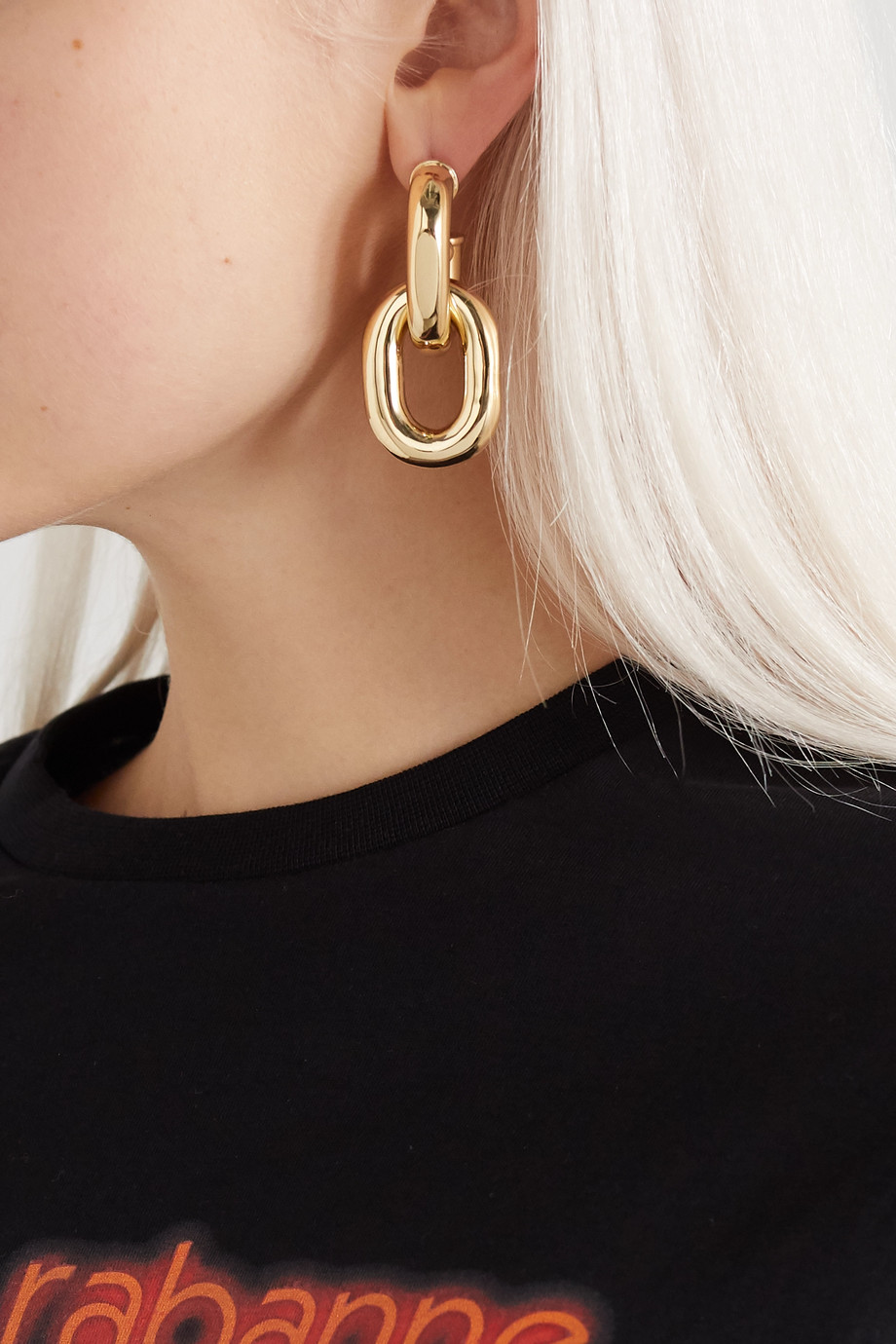 Paco Rabanne Gold-tone earrings