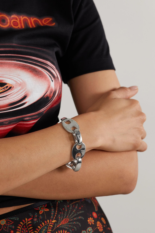 Paco Rabanne Eight silberfarbenes Armband