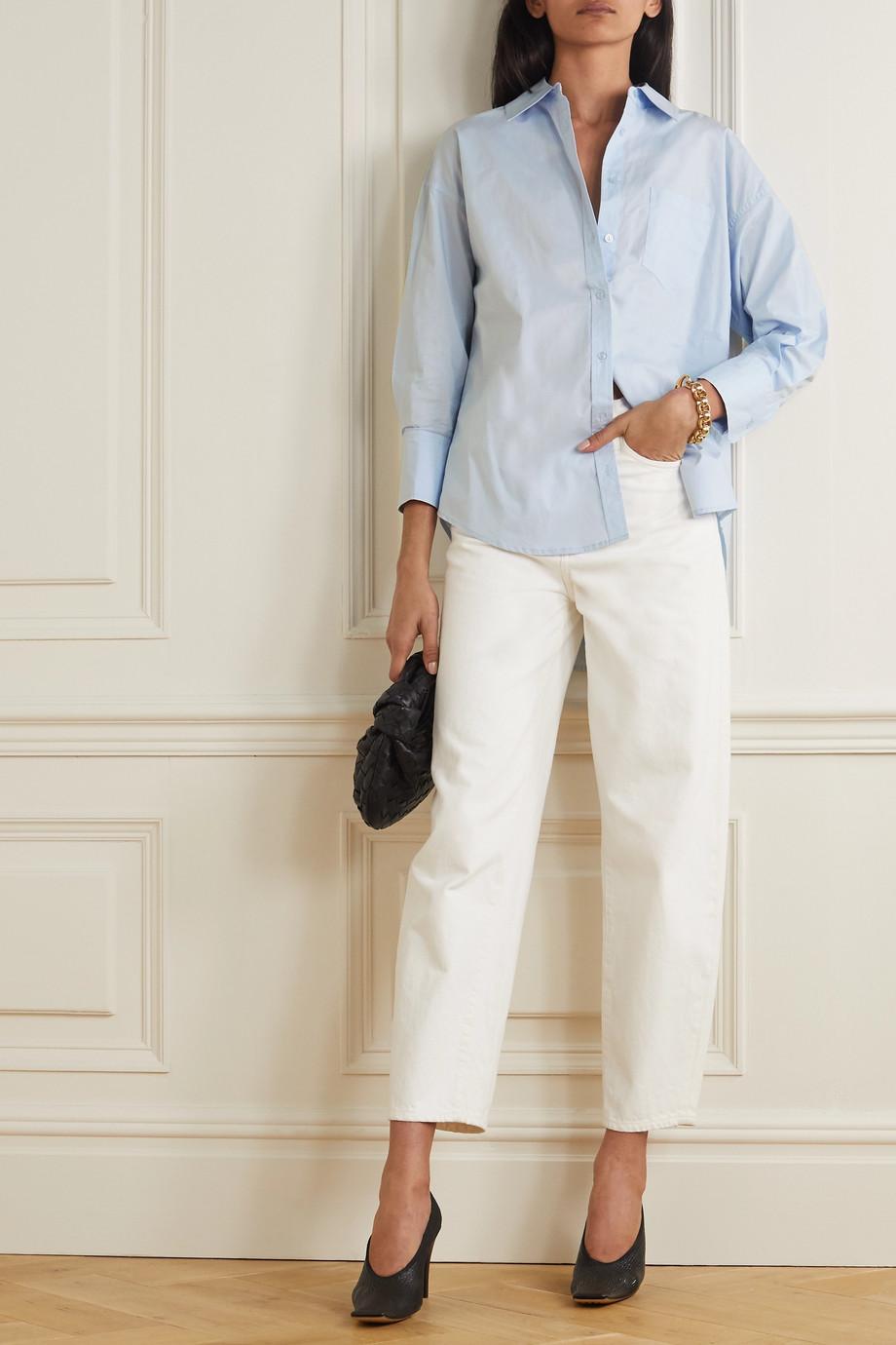Anine Bing Mika cotton-poplin shirt