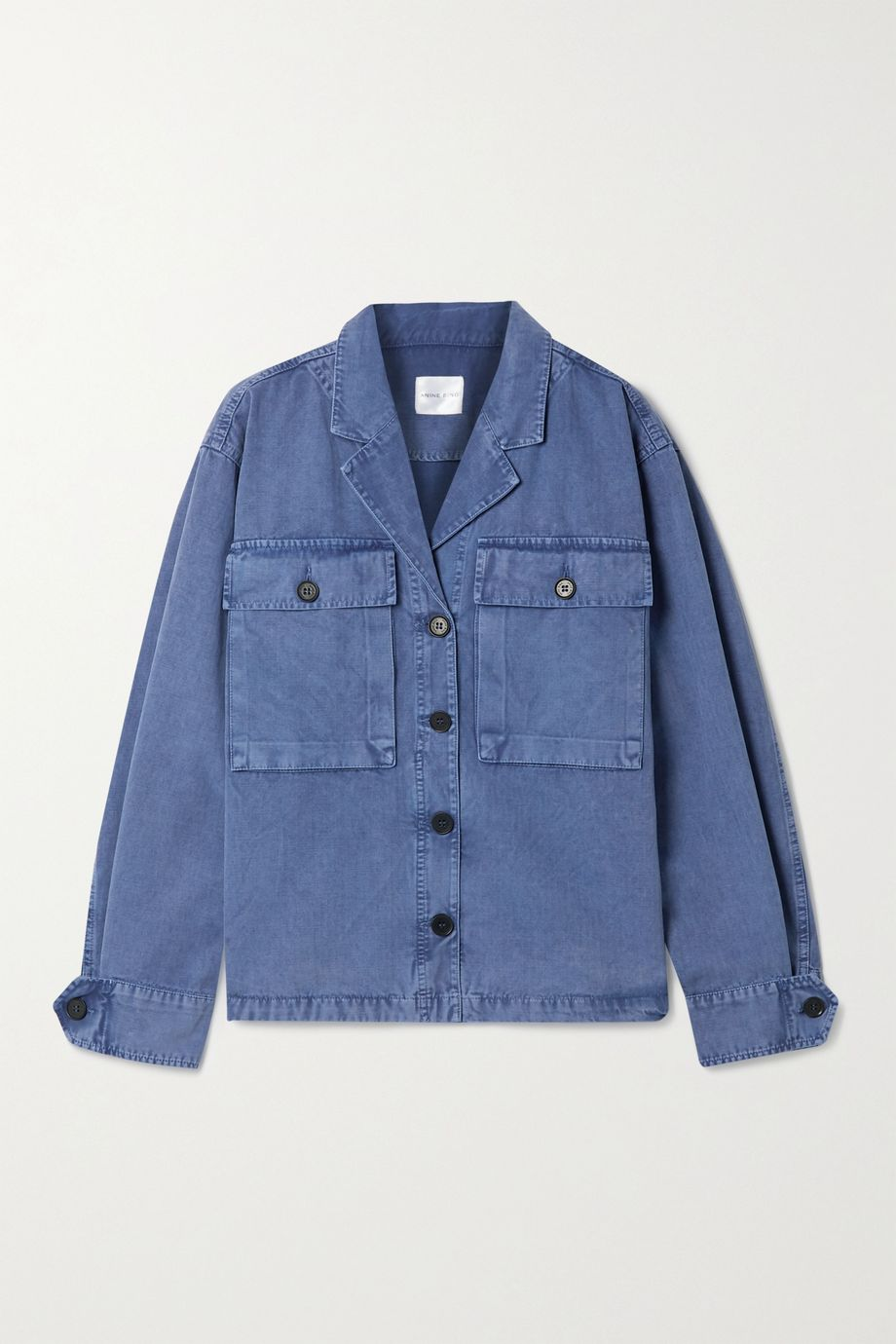 Anine Bing Sawyer herringbone cotton jacket