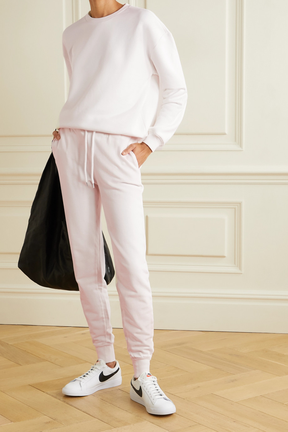 Anine Bing Saylor 纯棉平纹布运动裤