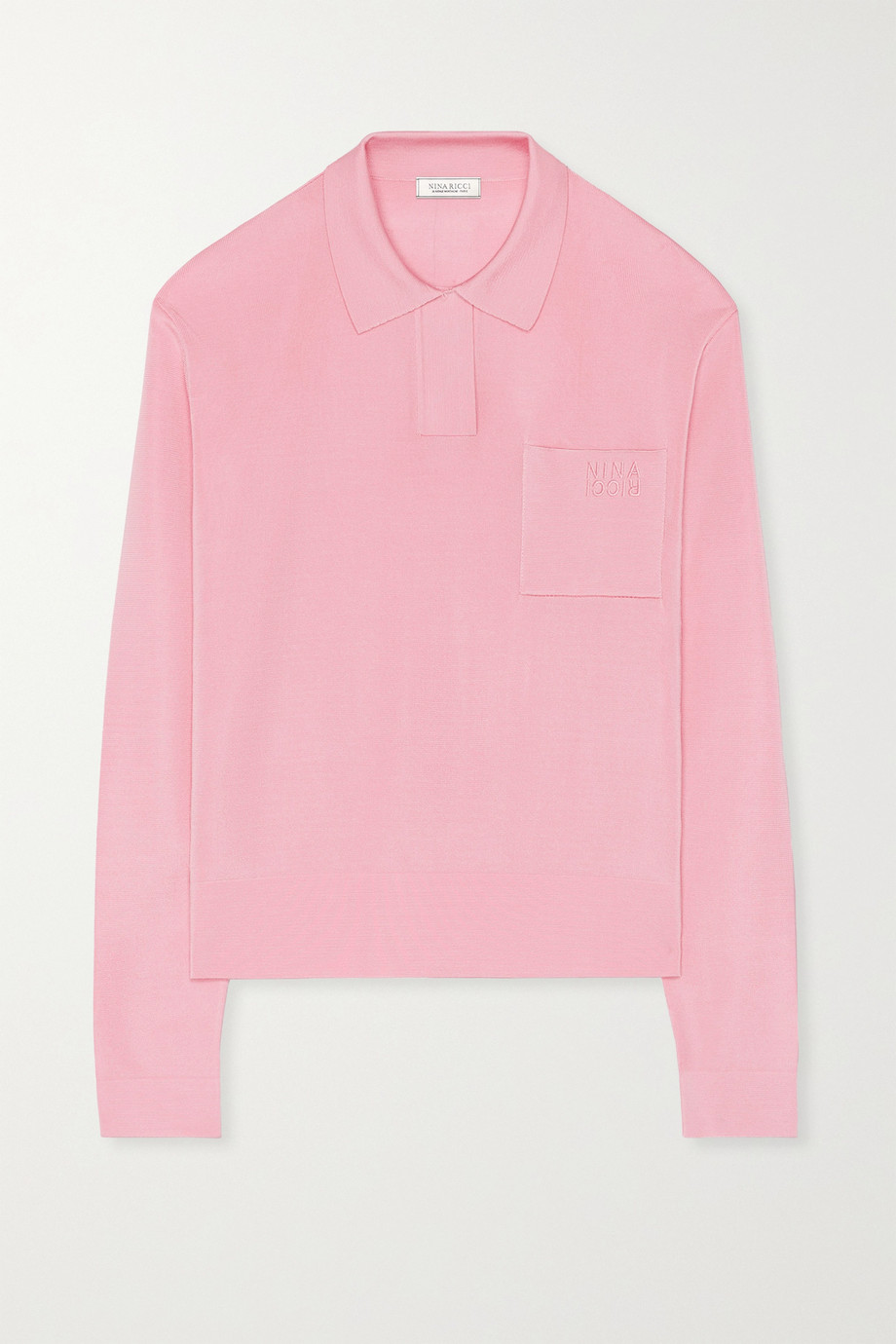 Nina Ricci Stretch-knit sweater