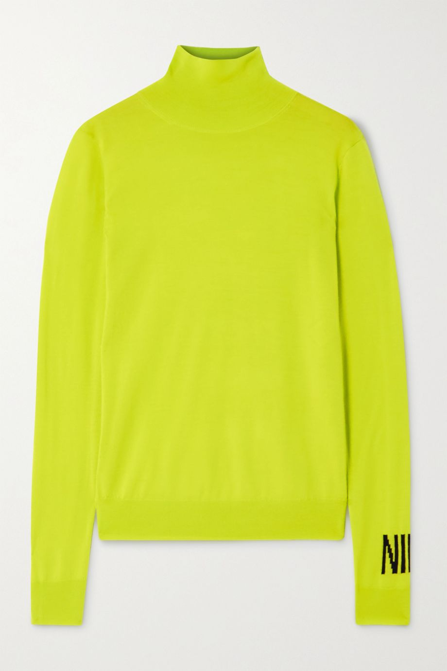 Nina Ricci Intarsia wool turtleneck sweater