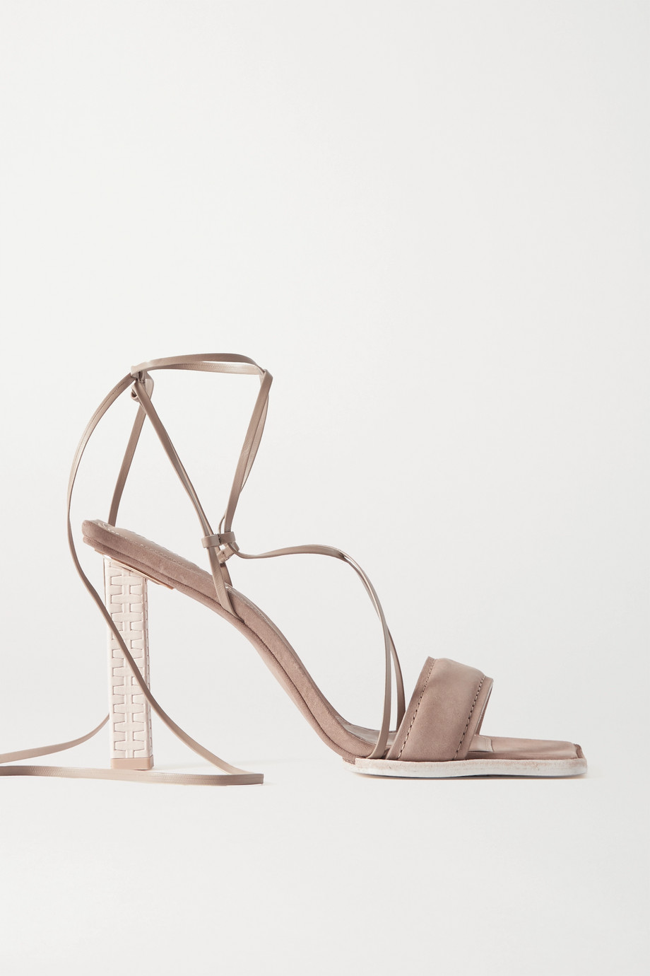 Jacquemus Adour 牛巴革凉鞋