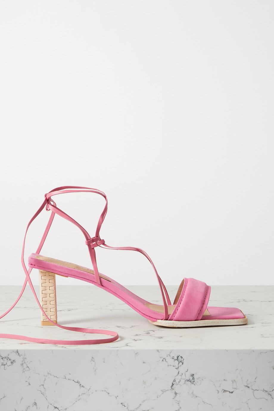 Jacquemus Adour nubuck sandals