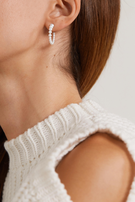 Sophie Bille Brahe Boucle Marco 14K 黄金珍珠耳环