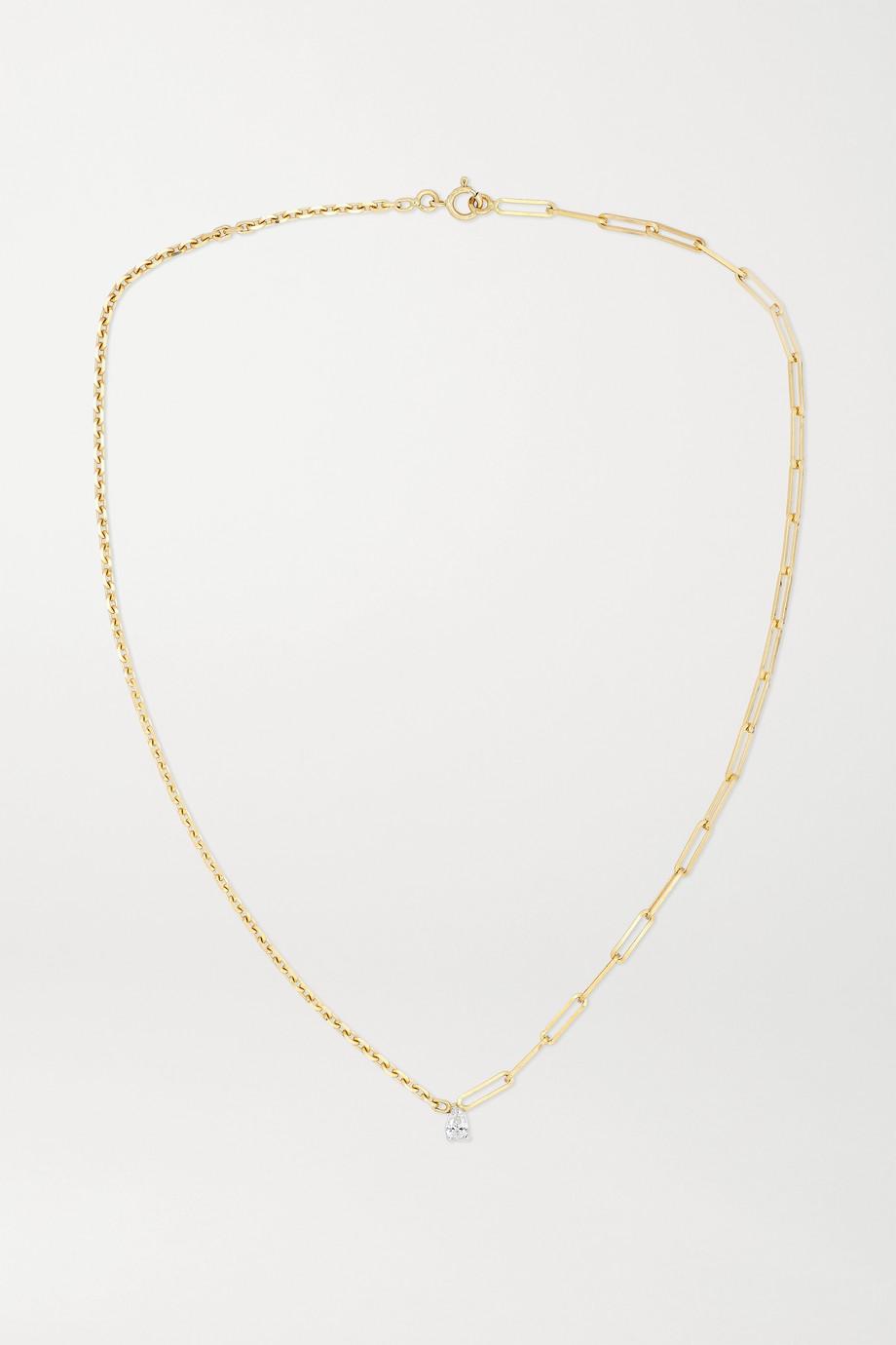 Yvonne Léon Collier en or 18 carats et diamant