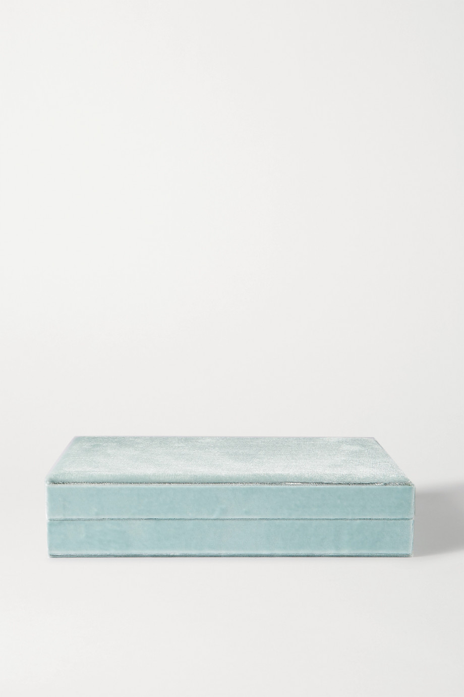 Sophie Bille Brahe Large velvet jewelry box