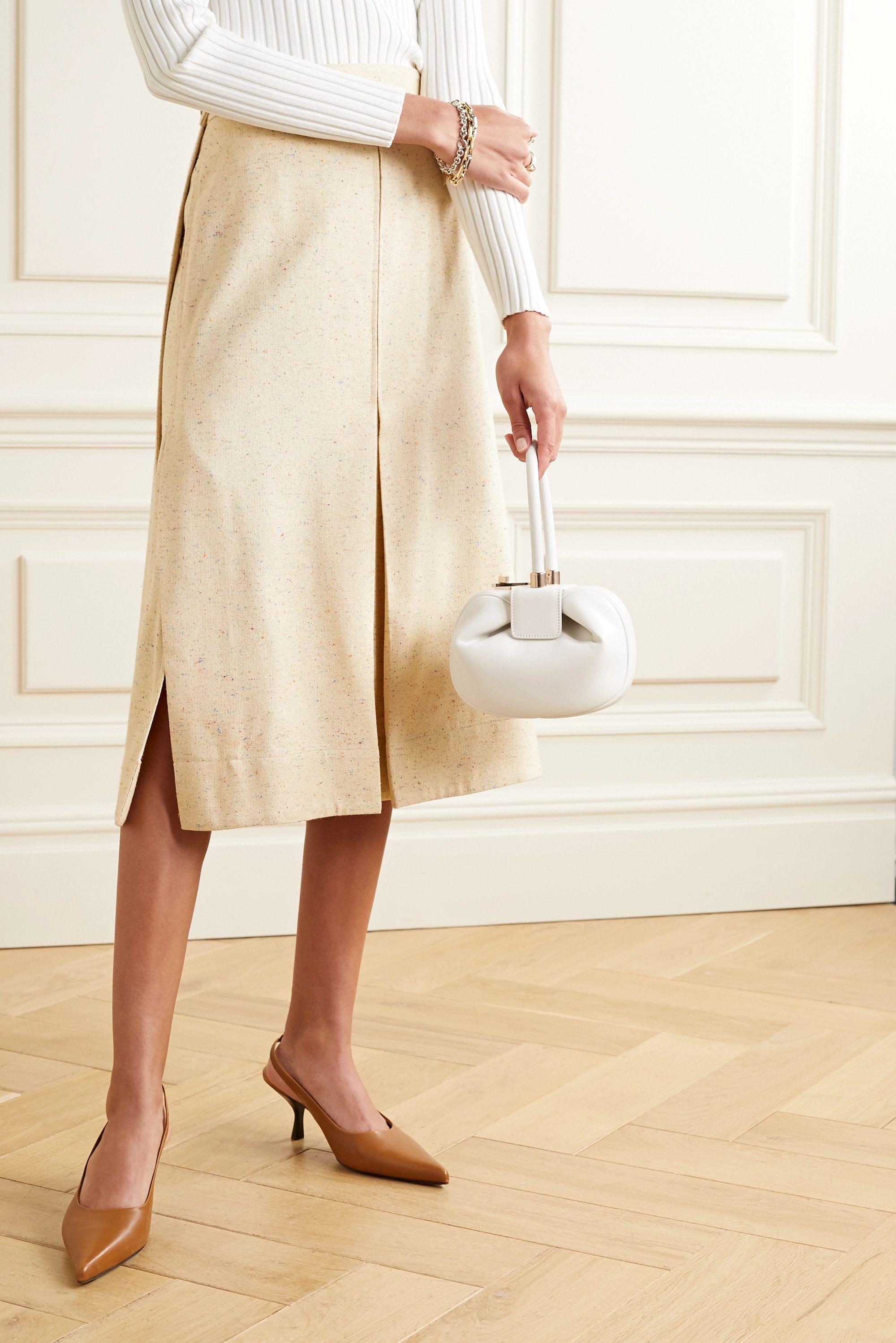 Gabriela Hearst Demi leather tote