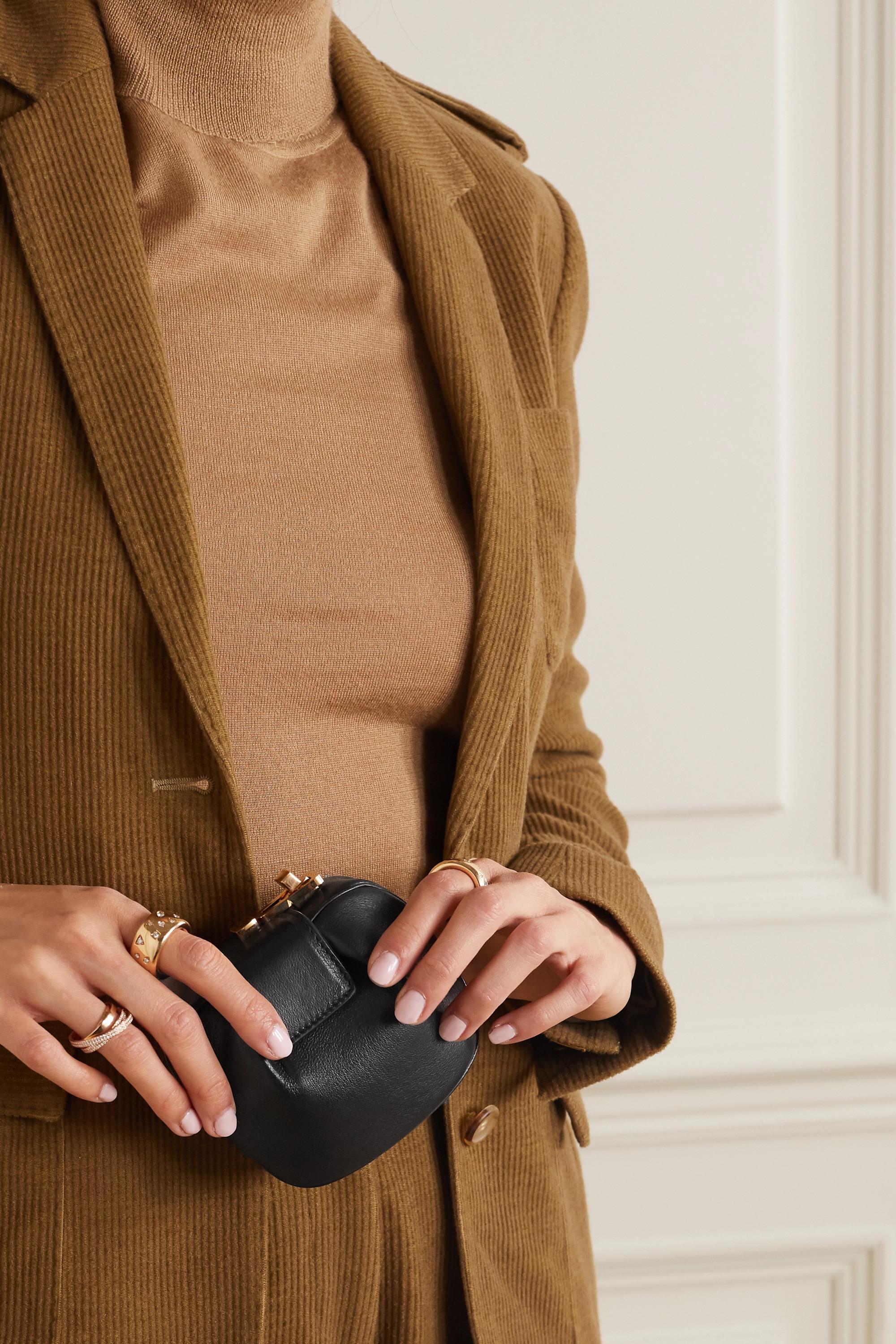 Gabriela Hearst Rafaela leather wallet