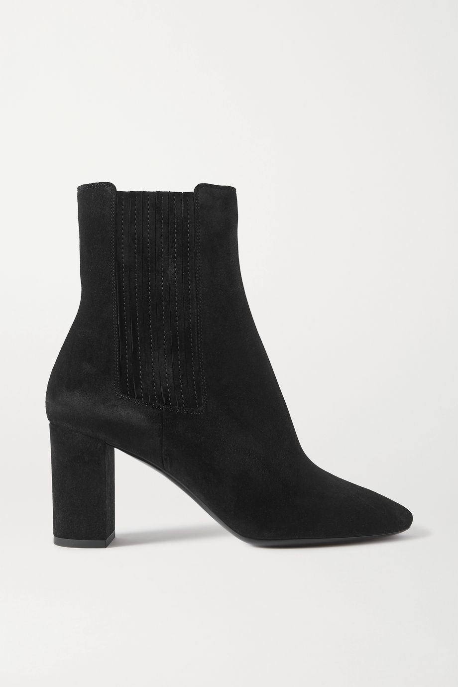 SAINT LAURENT Mica suede ankle boots