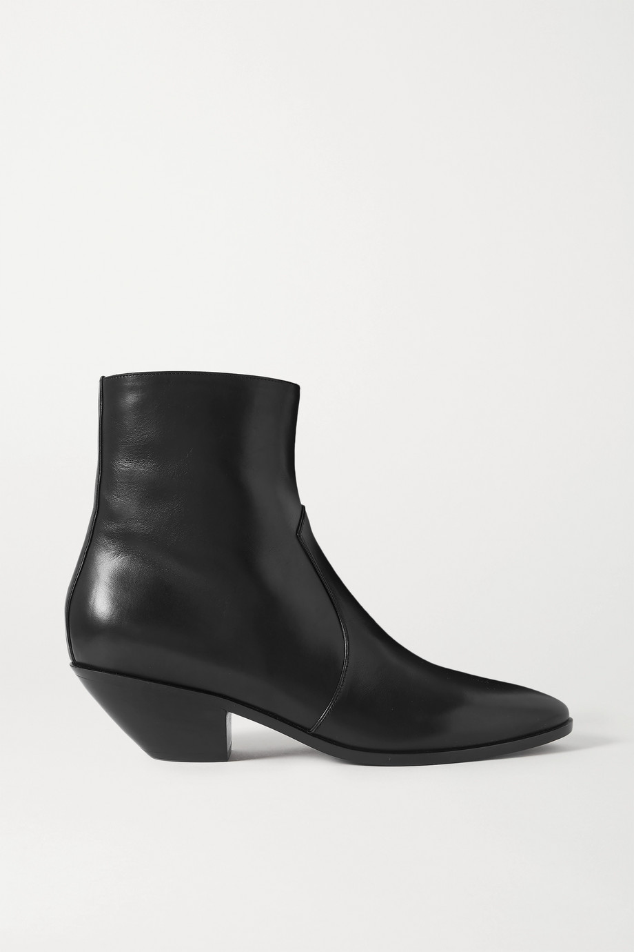 SAINT LAURENT West Ankle Boots aus Leder