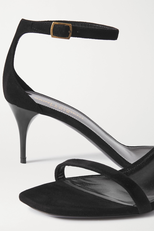 SAINT LAURENT Lexi suede sandals