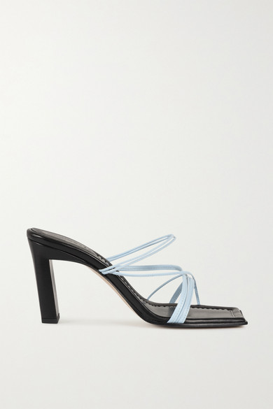 Wandler - Joanna Two-tone Leather Sandals